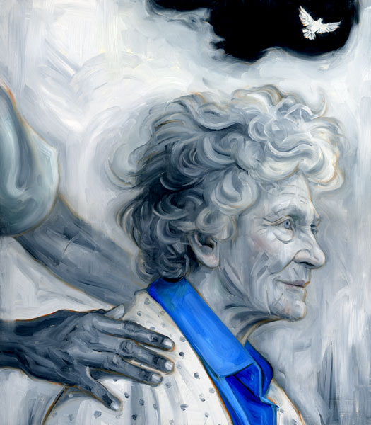 mystical communication with the elderly, speaking to those near death, communicating with the dying,