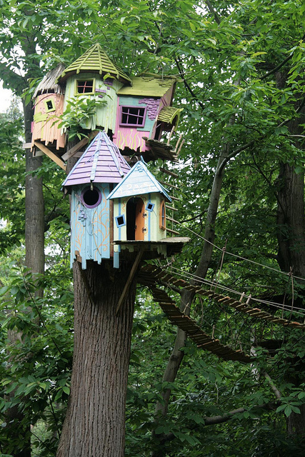 treehouse, what you wanted as a child,