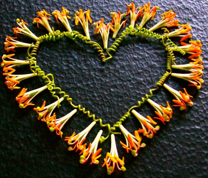 art from found objects, love made visible,