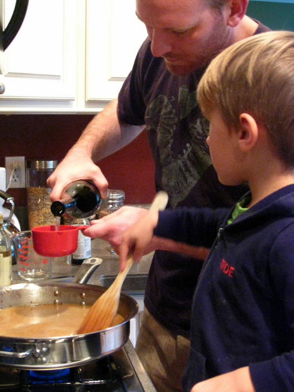 kids learn in the kitchen, kids learn by helping, kids help in the kitchen, what kids can cook,