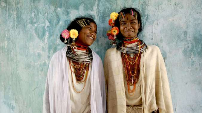 Members of the Dongria Kondh tribe. (Image by Jason Taylor)