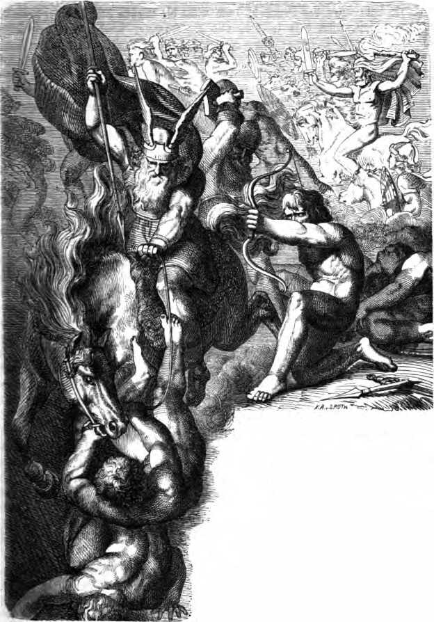 The Æsir Against the Vanir (wikimedia.org)