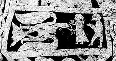 Óðin as an eagle. (norse-mythology.org)