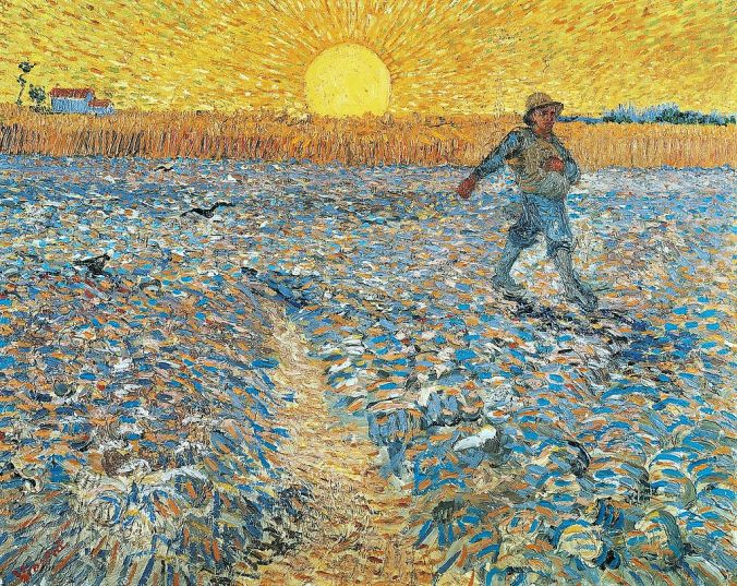 The Sower, by Vincent van Gogh