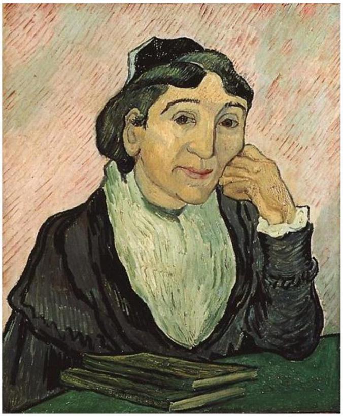 L'Arlésienne, L'Arlésienne, by Vincent van Gogh