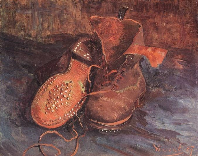 A Pair of Shoes, by Vincent van Gogh