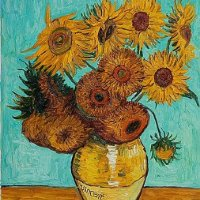 """It is good to love many things""  ~Vincent Van Gogh"