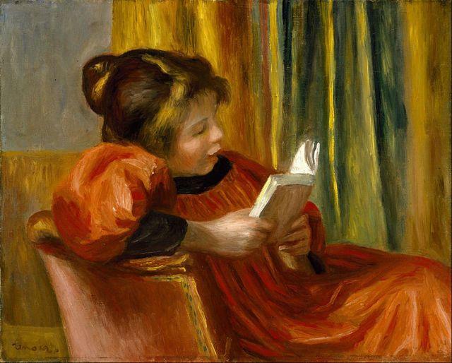 can't hear when I read, lost in reading, unreachable reader,