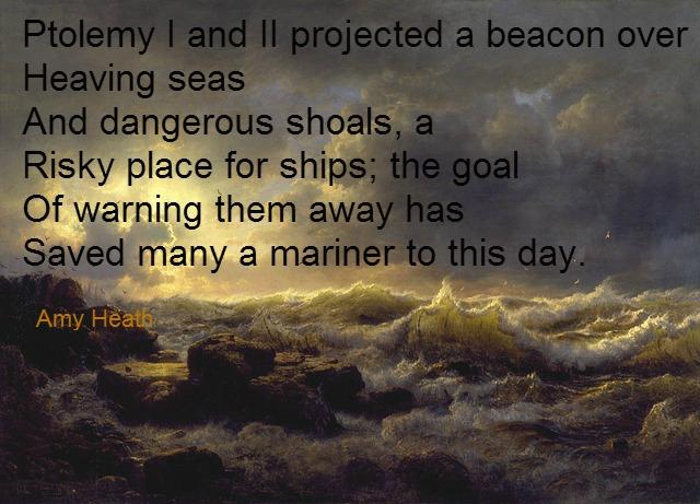 Andreas Achenbach, Pharos, Amy Heath, pixabay.com/en/andreas-achenbach-sea-ocean-water-85762