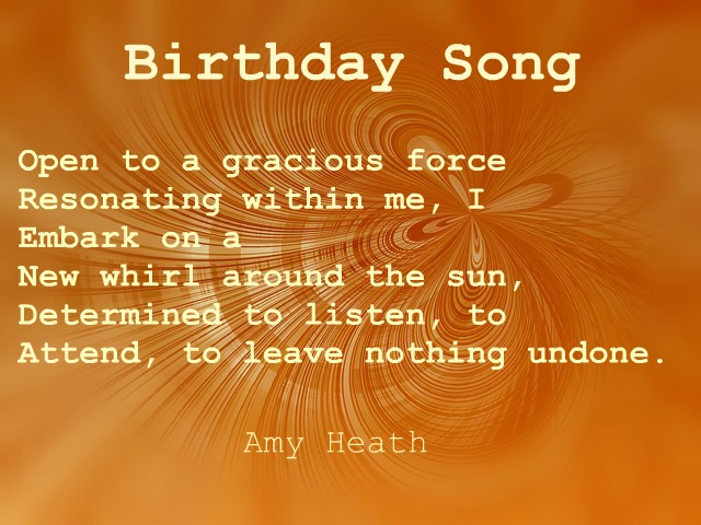 Amy Heath, acrostic poem, birthday poem, orenda, pixabay.com/en/background-gold-golden-texture-630417/