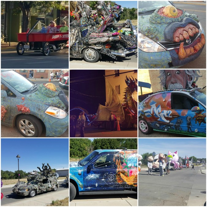 Artocade art car festival 2015, Trinidad Colorago