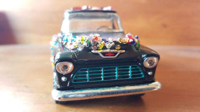 tiny art car, er, truck