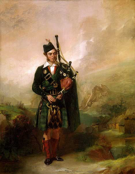 Angus MacKay of Clam MacKay artist unknown